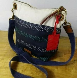 FOSSIL Pre-owned Crossbody Bags